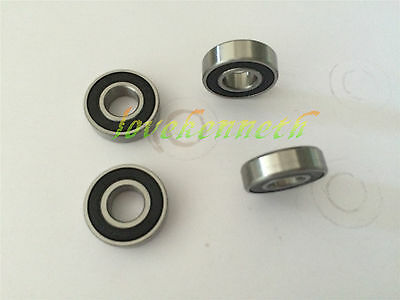 5/10pcs Rubber Seal Ball Bearing 6000-2RS To 6005-2RS Deep Groove Bearings