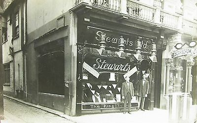 Stewarts Clothier & Scarborow Opticians Westgate Street Ipswich Early Rp Pc