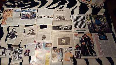 Great Michael Jackson clippings collection recortes
