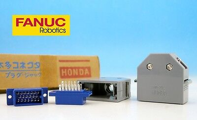 SET MR-20M + MR-20L 20 pin Male + Case Cover HONDA Japan CONNECTOR FANUC CNC