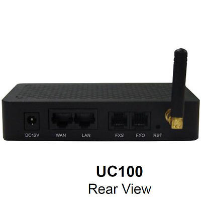 Dinstar UC100 1 channel GSM, FXS, FXO, SIP, WiFi Gateway, IMEI/PIN Code modified