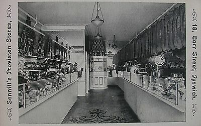 Sennitts Provision Stores 18 Carr Street Ipswich Suffolk Early Pb Pc
