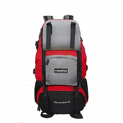 Local Lion Outdoor Sports Hiking Camping Backpack Waterproof Rucksack Unisex,