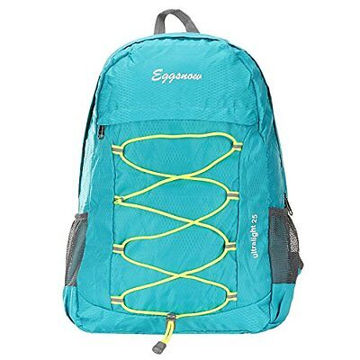 Eggsnow Travel Backpack Daypack, Lightweight, Ultra-Large Capacity, Waterproof