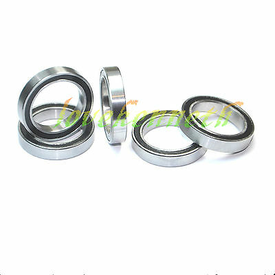 5/10/20 pcs Thin-wall Ball Bearing 6700-2RS To 6705-2RS Rubber Shield Bearings
