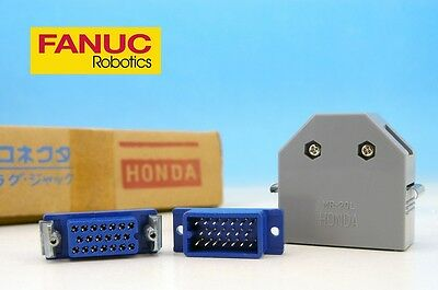 SET MR-20RF + MR-20M + MR-20L 20pin Female Male Case HONDA Japan CONNECTOR FANUC
