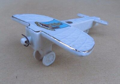 Crested China Bleriot Style Monoplane Plane (Missing Propeller) - Crieff