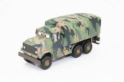 Rare Disney Pixar Cars Andy Gearsdale Military Army Truck Deluxe Diecast Car Toy