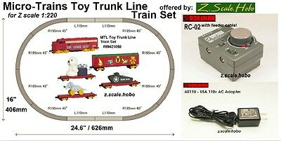 Starter Set Z Scale Christmas Train Set Track *NEW $0 SHIP Rokuhan Micro Trains