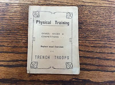"WW1 Handbooklet ""Physical Training"" To Replace Usual Exercises For Trench Troops"
