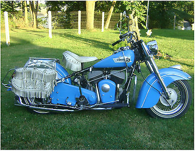 1952 Indian Chief  1952 Indian Chief Motorcycle