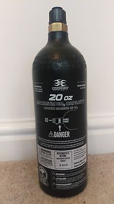 Paintball cylinder CO2 20oz
