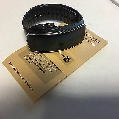 Samsung Gear Fit S R350 Black Watch