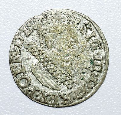 Rare & Large Medieval Hammered Silver Coin - Great Details - Z10