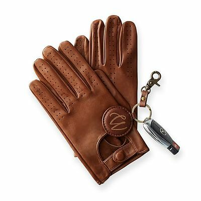 Men's Slim Fit Driving Gloves Chauffeur Lambskin Leather Dress Fashion Classic