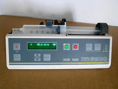 Graseby 3200 Syringe Infusion Pump Driver Fluid Administration Infusion Pump