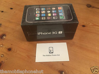 NEW Apple iPhone 3GS 32GB BLACK A1303 (FACTORY UNLOCKED) COLLECTORS SEALED iOS 3