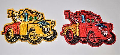 2x Applique Repair Sewing Iron on Patch Craft Ornament car Badge