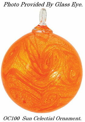 SUN~Celestial Series Ornament by Glass Eye Studio~Made in the USA~OC100
