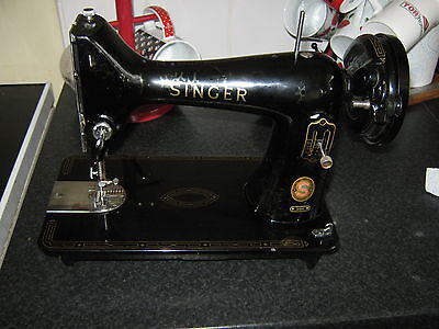 Singer 99K Sewing Machine Vgc Needs Re Lacquer Incomplete For Restoration Only