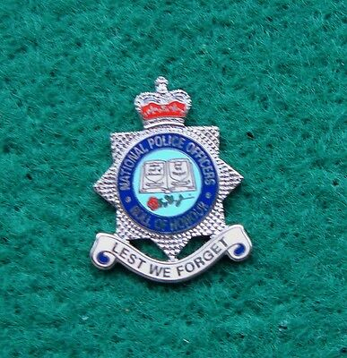 National Police Officers ROLL OF HONOUR tie tac pin badge