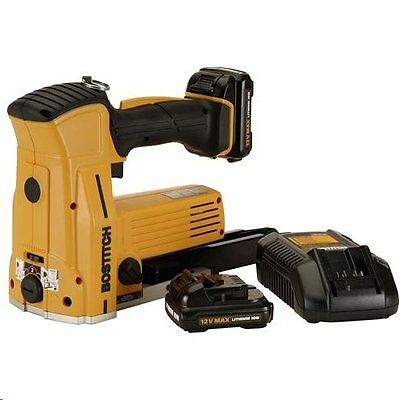 "Bostitch DSC-3219 12V Cordless 1-1/4"" Crown Carton Closer Stapler Kit"