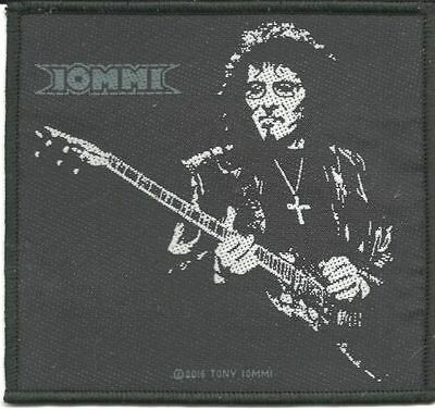 BLACK SABBATH / TONY IOMMI - Guitar 2016 - WOVEN SEW ON PATCH - free shipping