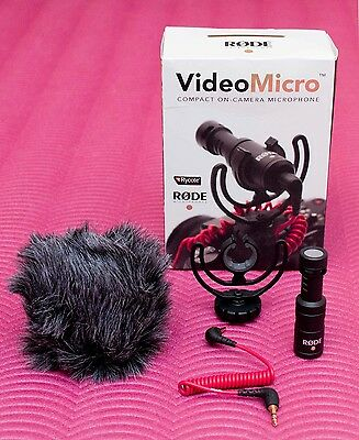 Rode VideoMicro Compact On Camera Microphone