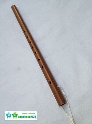Thai Flute Woodwind Brown Laos Music Professional Vintage Band Isan Instrument