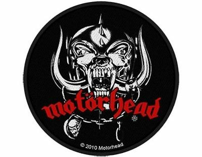 MOTORHEAD - War Pig 2010 - WOVEN SEW ON PATCH - free shipping