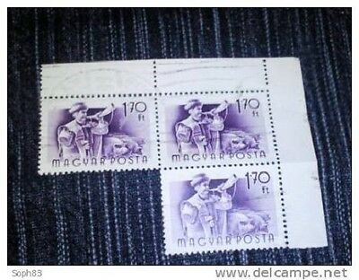 Timbres Hongrie Obliteres