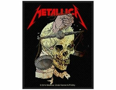 METALLICA harvester of sorrow 2014 - WOVEN SEW ON PATCH - free shipping