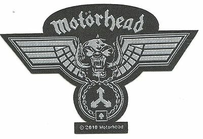 MOTORHEAD Hammered cut out 2010  - WOVEN SEW ON PATCH - free shipping