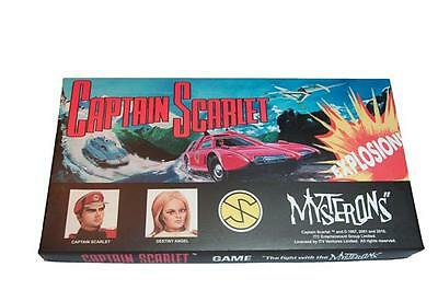 Captain Scarlet Retro Vintage Board Game Thunderbrids FAB Christmas Gift Toy