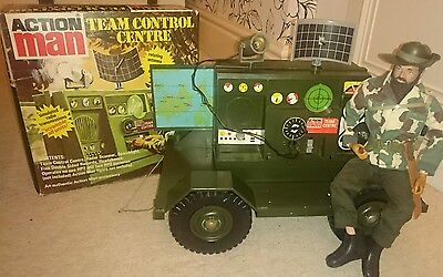 Action Man Team Control Centre with box (Radio command centre for Land rover)