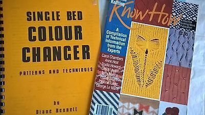 Lot 54 Knitting Machine Know How Single Bed Colour Changer instruction manual