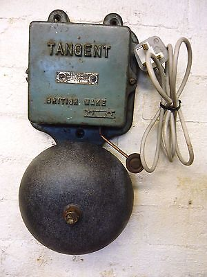 Vintage  Tangent Bell Cast Iron  Ex Railway . Works Great
