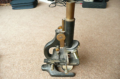 Vintage Winkel Zeiss precision microscope with x/y stage assembly