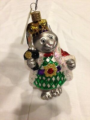Old World Christmas Mouse King Ornament