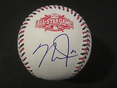 Mike Trout Hand Signed Autographed All Star Baseball With Coa