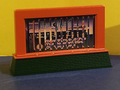 Lionel / Halloween Animated Billboard, Item No.6-24227 O-Scale