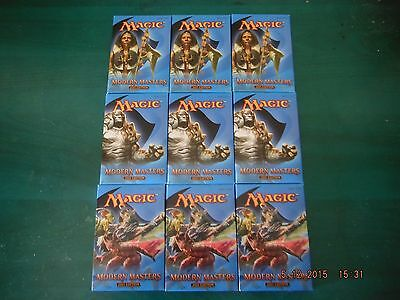 Magic Gathering Modern Masters 2 (2015 Edition MM2) 9x booster packs 9 sobres