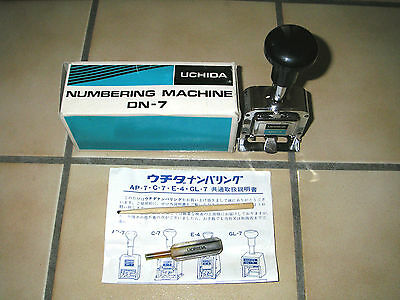 Uchida DN-7 6 Digit Automatic Hand Numbering Machine