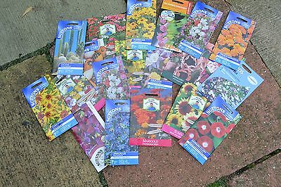 20 Flower Seed Packets