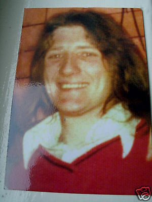 Irish Republican Bobby Sands Card With Biography Printed On The Rear Of Card