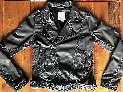 Diesel Girls Real Leather Jacket - Size L - Immaculate - *christmas Present*