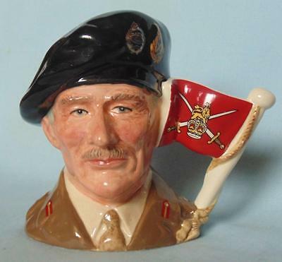 Royal Doulton Small  C/jug Viscount Montgomery Of Alamein D6850 Heroic Leaders