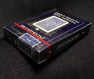 c1970's Official Aristocrat Sealed Narrow Edition Vintage UPC FREE Playing Cards