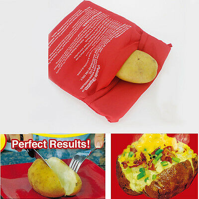 New Potato Express Cooker Bag Polyester With BoxHealth Red Kicthen Tool