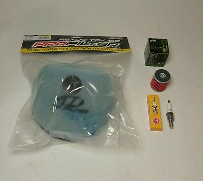01-08 Yamaha YZ250F & 03-08 YZ450F Tune Up Kit Spark Plugs Oil Filter Air Filter